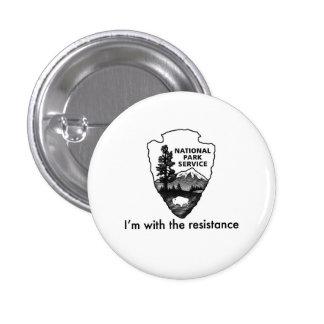 Le service de parcs nationaux mène la résistance badge