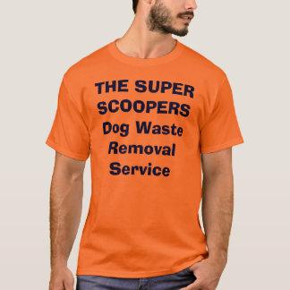 Le service SUPERBE d'élimination des déchets de T-shirt