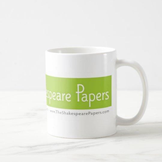 le shakespeare empaquette la tasse de caf zazzle. Black Bedroom Furniture Sets. Home Design Ideas