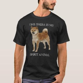 Le Shiba Inu est mon animal d'esprit T-shirt