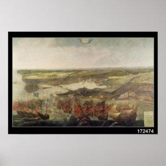 Le siège de La Rochelle en 1628 Posters