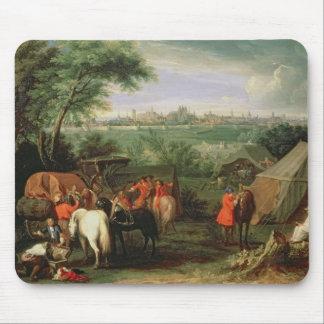 Le siège de Tournai par Louis XIV Tapis De Souris