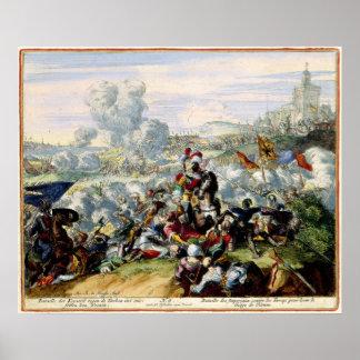 Le siège turc de Vienne 1683 Affiches
