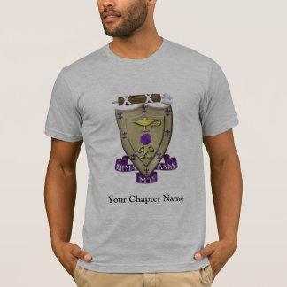 Le sigma alpha MU Crest T-shirt