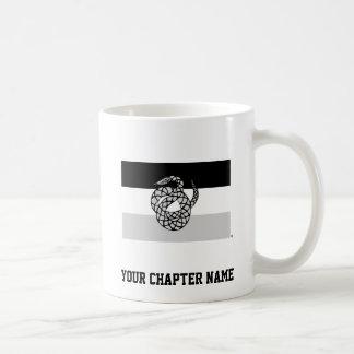 Le sigma NU marquent le gris Mug
