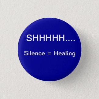 Le silence égale la guérison badges