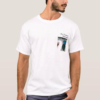 Le skiff de pinte cintre le T-shirt