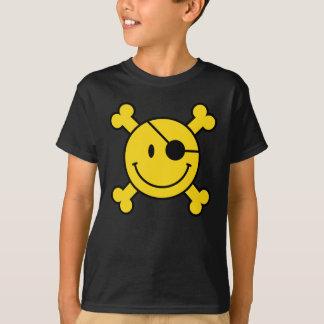 Le smiley de pirate badine le T-shirt
