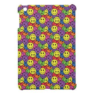 Le smiley fait face au rétro motif de hippie coque iPad mini