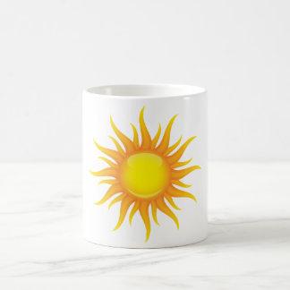 Le soleil flamboyant mug