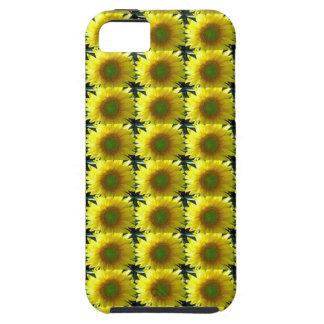 le soleil heureux gai de répétition jaune étui iPhone 5