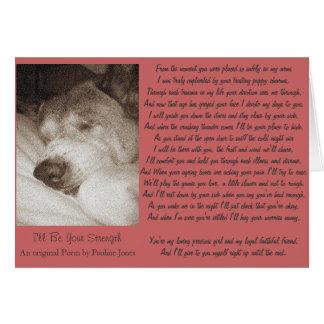 le sommeil vieil akita poursuivent la carte