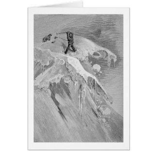 Le sommet du passage de Moming en 1864, 'd'A Carte De Vœux