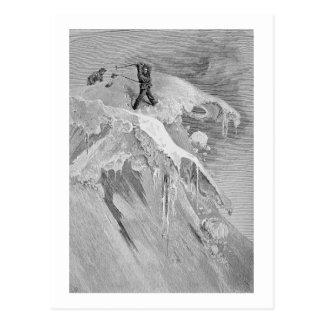 Le sommet du passage de Moming en 1864, 'd'A Carte Postale
