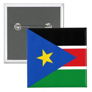 le Soudan du sud Badges Avec Agrafe