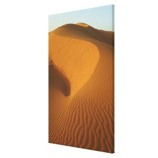 Le Soudan, nord (Nubia), dunes dans le désert Toiles
