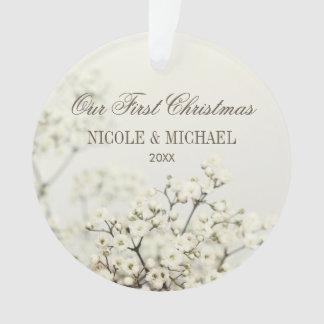 Le souffle vintage du bébé mou notre premier Noël