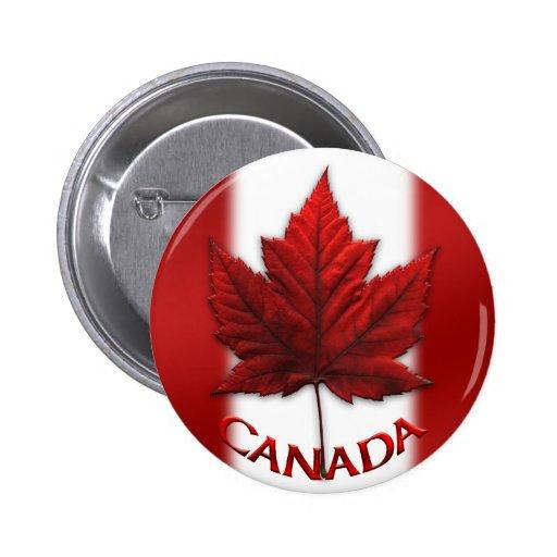 Le souvenir du Canada boutonne le Pin de feuille Badges