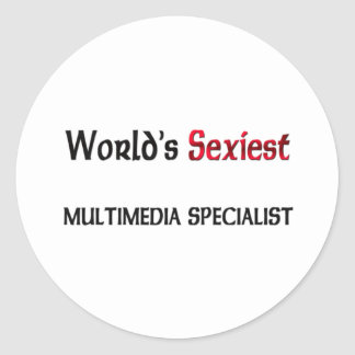 Le spécialiste en multimédia le plus sexy du monde autocollants