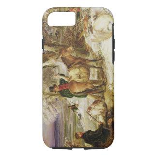 Le sport d'un jour, 1826 (huile sur la toile) coque iPhone 8/7