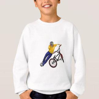 Le squelette folâtre le sweatshirt de BMX