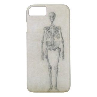 Le squelette humain, vue antérieure, de la série coque iPhone 7