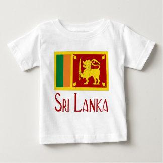 Le Sri Lanka T-shirt Pour Bébé
