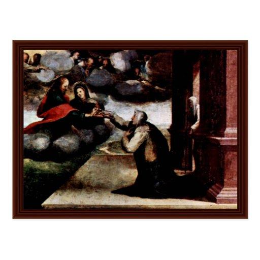 Le St Catherine recevant les stigmates Carte Postale