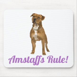 Le Staffordshire Terrier américain (Amstaff) Tapis De Souris