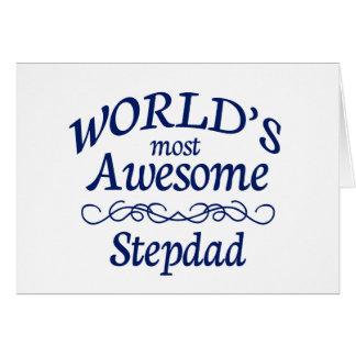 Le Stepdad le plus impressionnant du monde Carte De Vœux