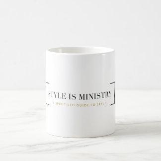 Le style est tasse de ministère