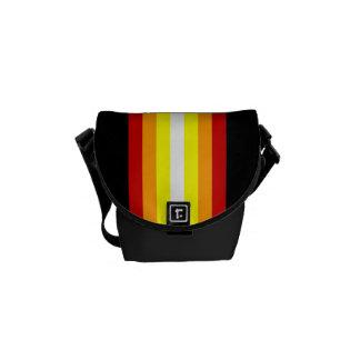 Le style raye sac messenger zéro à Rickshaw le Sacoche