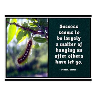 Le succès semble être… Carte postale