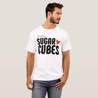 Le sucre cube le T-shirt de base des hommes