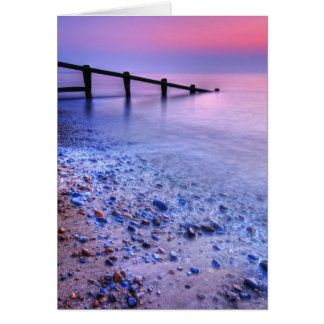 Le Suffolk 7. de plage d'Aldeburgh - customisé Cartes