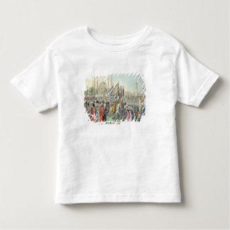 Le sultan turc passant en revue ses Janissaries T-shirt Pour Les Tous Petits