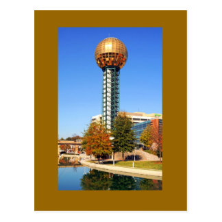 Le Sunsphere - Knoxville, Tennessee, Etats-Unis Carte Postale