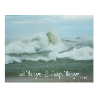 Le Superstorm Sandy ondule sur la carte postale du