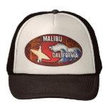 Le surfer de Malibu la Californie ondule le chapea Casquettes
