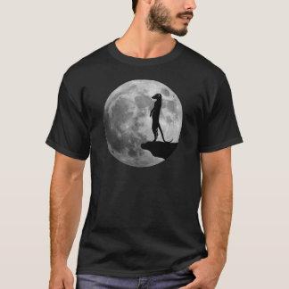 le suricat de meerkat erdmännchen la lune de mond t-shirt