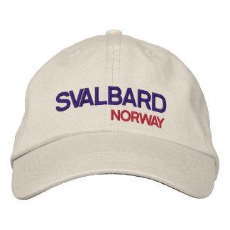 Le Svalbard, casquette réglable de Norway* Casquette Brodée