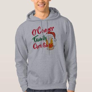 le sweat - shirt à capuche de famille de Noël de
