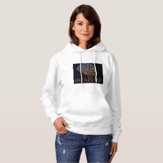 Le sweat - shirt à capuche de la femme de XP de