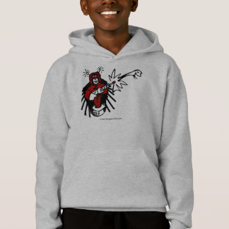Le sweat - shirt à capuche de l'enfant de cyclopes