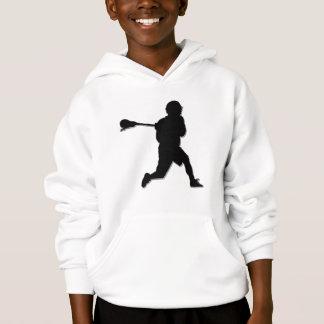 Le sweat - shirt à capuche de l'enfant de joueur