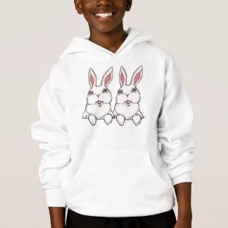Le sweat - shirt à capuche de l'enfant de jumeau
