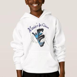 Le sweat - shirt à capuche de l'enfant. Guerriers