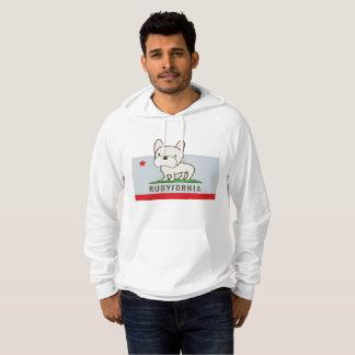 Le sweat - shirt à capuche de pull de Rubyfornia