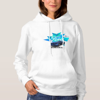 Le sweat - shirt à capuche des femmes d'adaptateur