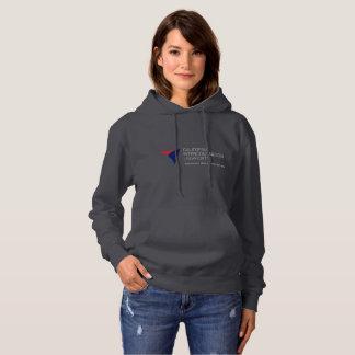 Le sweat - shirt à capuche des femmes grises de